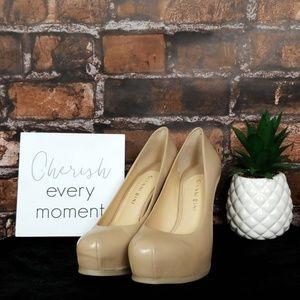 Gianni Bini| Leather Platform Heels
